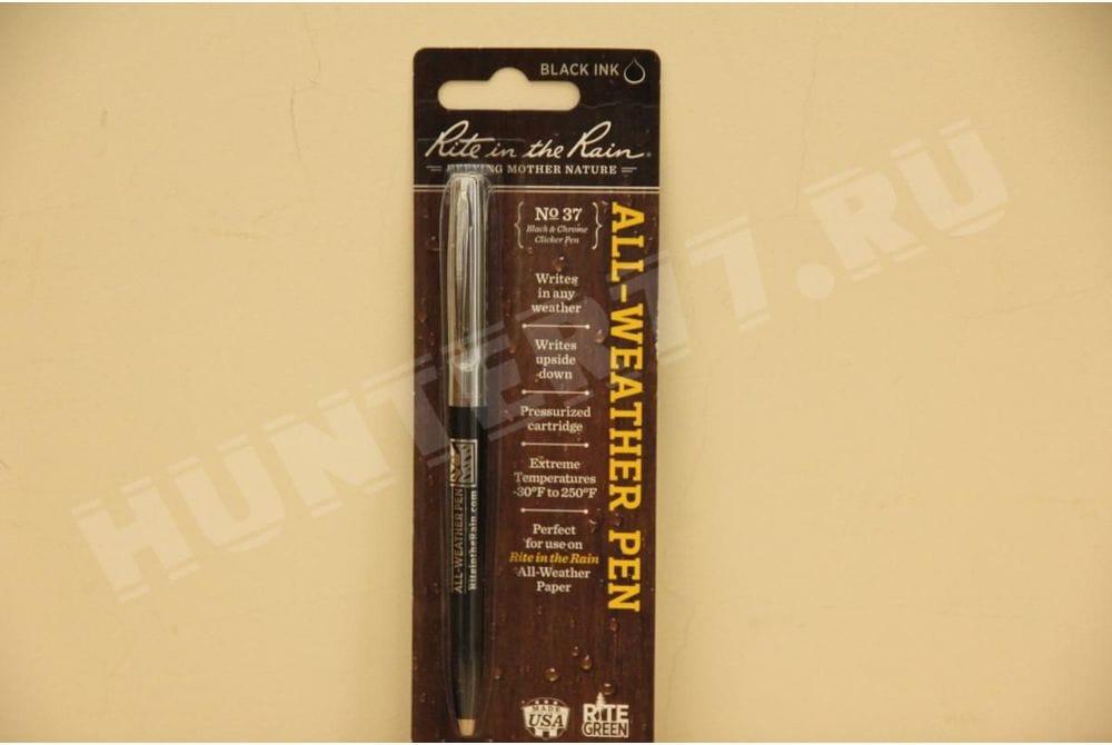 Всепогодная ручка черная № 37 Rite in the Rain