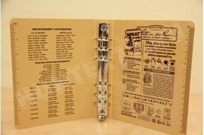 """Обложка с кольцами 1"""" емкость N 9210T RING BINDER"""