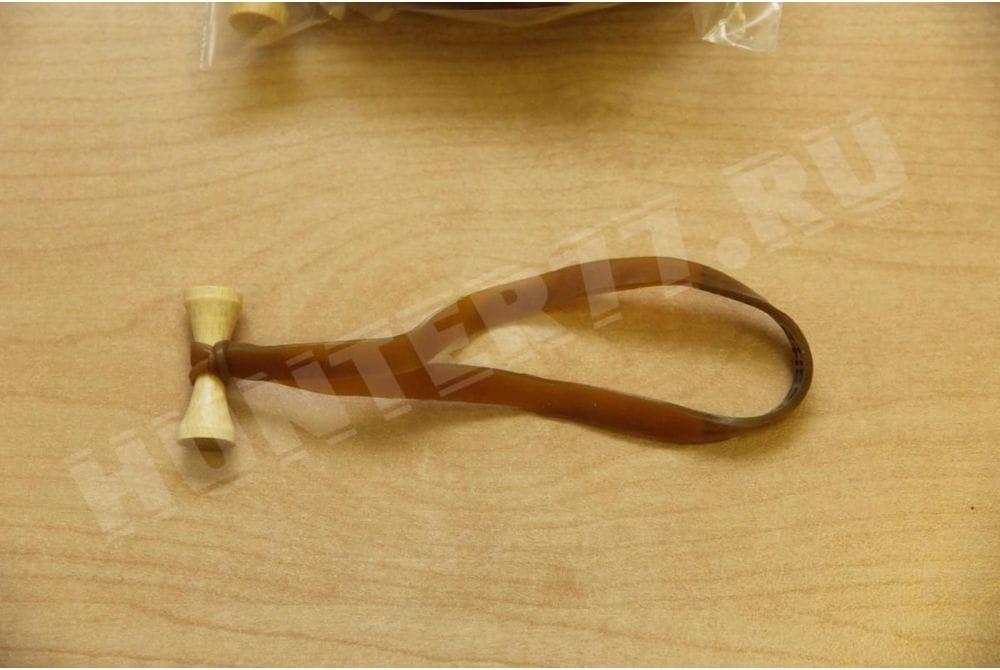 Резинка стяжка Тан 12,7х0,6 см - 10 штук