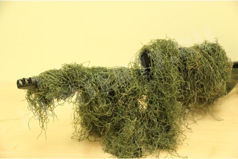 Маскировка Leafy Green облегченная на винтовку