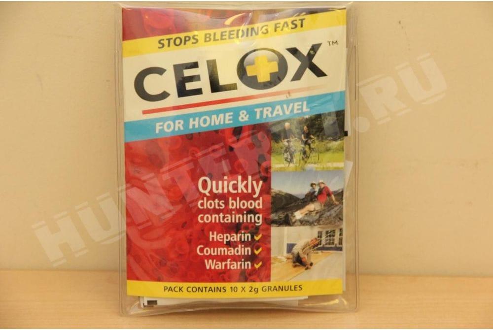 Кровоостанавливающее средство Celox 2 грамма