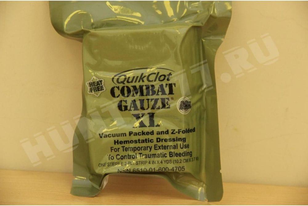 Бинт QuikClot Combat Gauze XL Комбат Гаузе