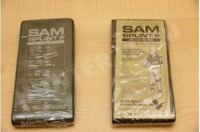 """Шина плоская SAM Splint 36""""военная серая для фиксации перелома военная"""