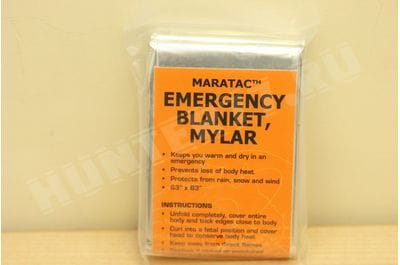 MARATAC  Emergency Space Blanket
