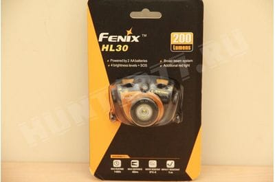 Lamp of Fenix ​​HL30 200Lum