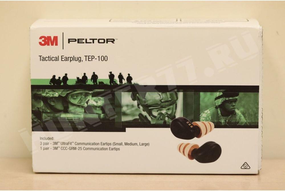 Активные беруши  TEP-100 PELTOR  Tactical 3M