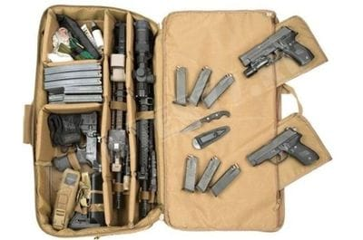 Soft Case 28 TUFF Coyote Brown for concealed carrying of weapons