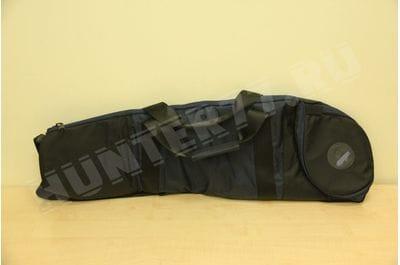 Сумка-кейс 91,5 для AICS и Accuracy International черная/синяя для скрытого ношения оружия