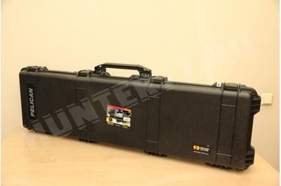 Pelican 1750 Rifle Case With Foam Black