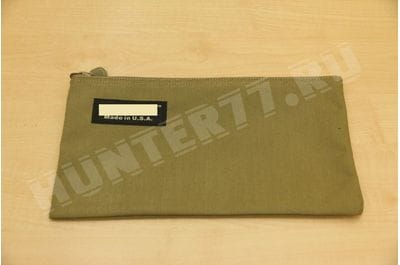 28 x 35 cm zip pouch for documents Tactical Tan
