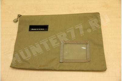 Universal package / for documents / tools with a zipper 32 x 19 cm Coyote Tan