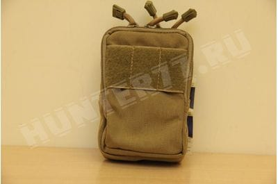 Pouch small vertical 6x 4x 2 coyote