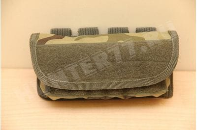 Cartridge pouch for 12 rounds 12 cal camo