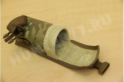 Nonflammable cartridge pouch for PBS Small multicam for devices 13-18 cm