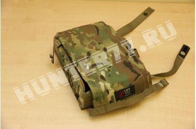 Жесткий подсумок молли на 125 патронов LBT-6178A Modular ammo box multicam