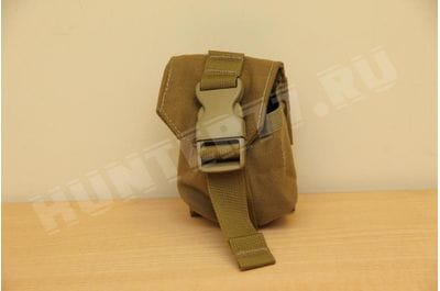 Pouch under the grenade coyote