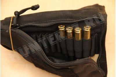 Подсумок на приклад на 10 патронов 7.62 черный
