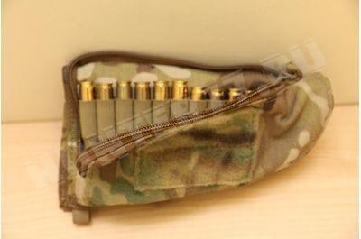 PIG Rifle Stock Pack 10 cartridges 7.62 multicam