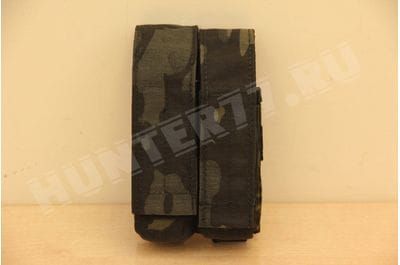 Подсумок 2 маг 9мм Glock MC Black LBT-9013B с вставкой