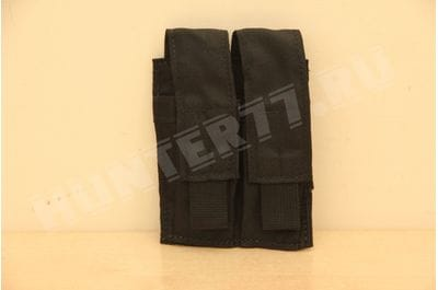 Подсумок 2 маг 9мм Glock Черный LBT-9012B Black