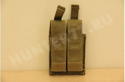 Подсумок 2 маг 9мм Glock Khaki LBT-9013B с вставкой