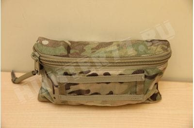 Pouch on Velcro BAE SYSTEMS with zipper cartoons