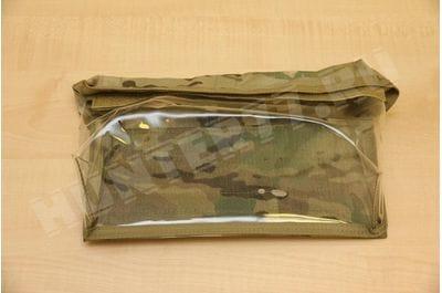 Подсумок на велкро 27х14х7,5 см прозрачный мультикам медицинский