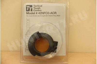 Желтая крышка окуляра 42NFC0-ACR с адаптером Nightforce ATACR F1 42мм
