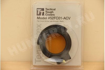 Tenebraex Amber cover for 50mm - Fits SB PMII, Nightforce, Leupold Mark 6 3-18, Bushnell Tactical, Steiner Mil 52FC01-ACV