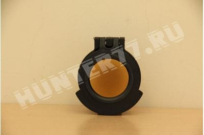 Желтая крышка UAC014-ACR окуляра Schmidt Bender 3-27 PMII с кольцом адаптера