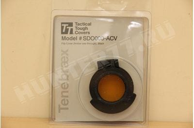 Tenebraex Amber Flip Cover for Many Ocular or Objective Lens SDO000-ACV