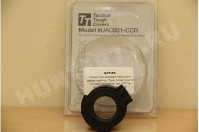 Tenebraex Clear Cover with Adapter Ring for Ocular Lens UAC001-CCR