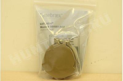 Tenebraex KillFlash ARD for 50mm Schmidt Bender Flip Cover  RAL8000   SB5001-FCA