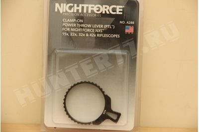 Nightforce NXS A288 turning lever
