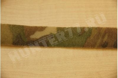 Липучка 25 мм (контактная лента) Camo Green петля