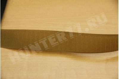 Velcro 25 mm TAN 499 hook