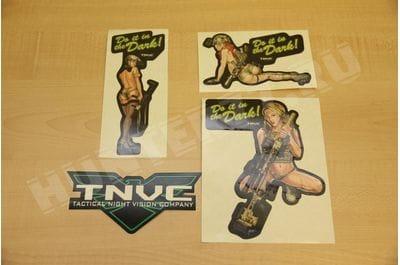 Комплект наклеек TNVC