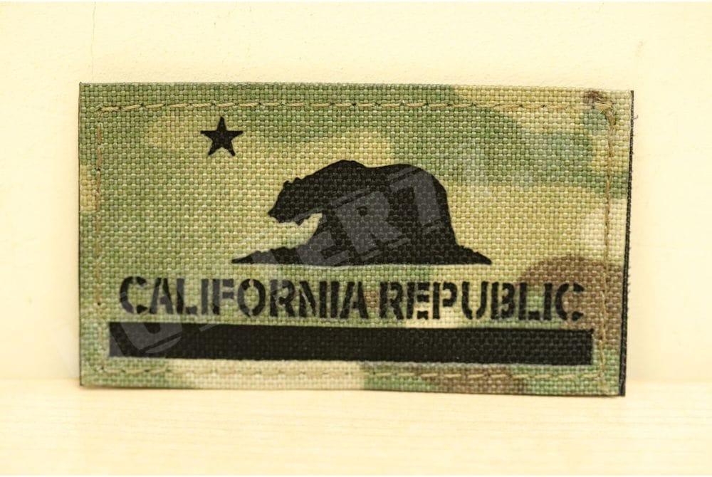 Патч California Flag мультикам