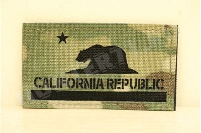 Патч California Flag мультикам
