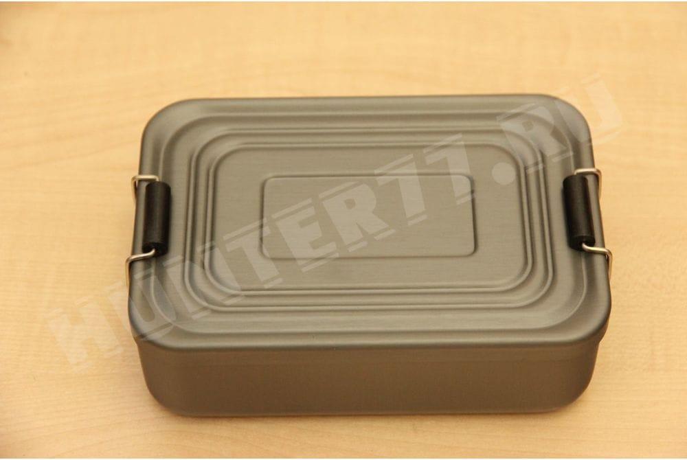 Контейнер 7,3 x 2,3 x 4,6 дм Best Glide ASE герметичный сверхпрочного алюминия - комплект для выживания