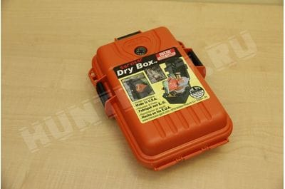 MTM Survivor Dry Box with O-Ring Seal, Small Orange