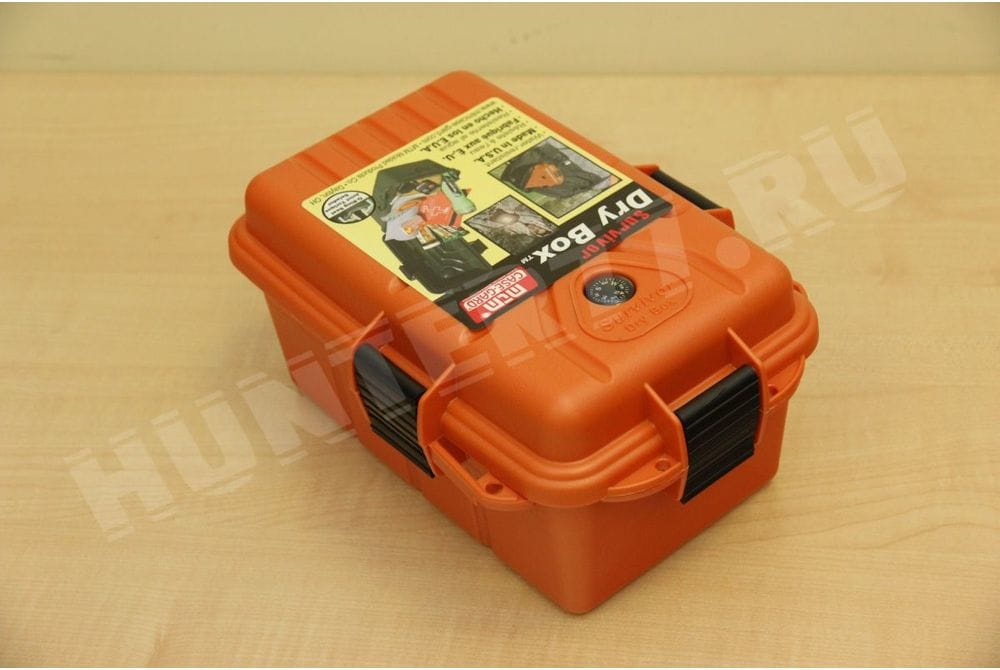 Контейнер Large Orange 9.75 x 7.75 x 4.75 дм MTM пластик