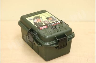 MTM Survivor Dry Box with O-Ring Seal, Large OD Green
