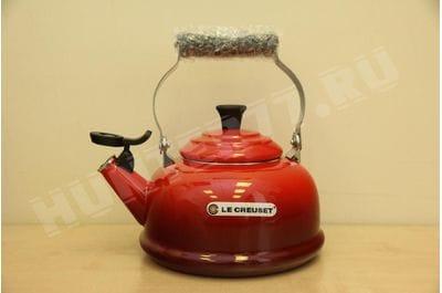 Чайник со свистком Le Creuset 1.6L красный