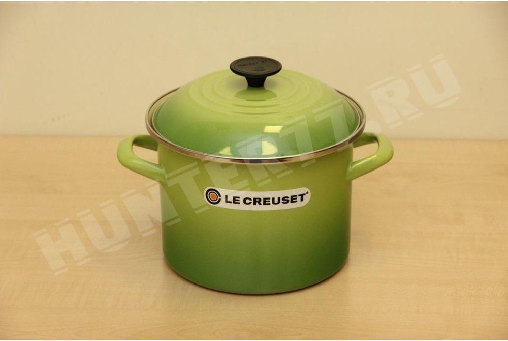 Кастрюля Le Creuset 5.7L зеленая Palm 6-Quart