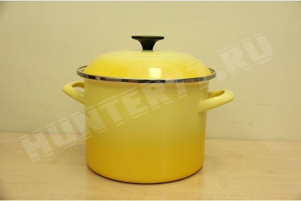 Кастрюля Le Creuset 5.7L стальная эмалированная желтая Soleil 6-Quart
