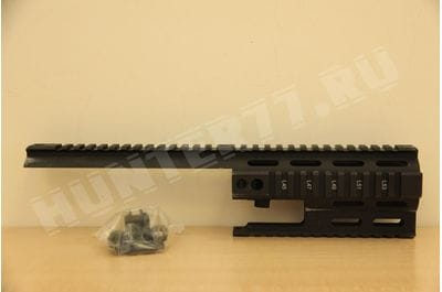 MI-S1617-SSRK-BLK MI SSR-SCAR KeyMod Handguard Black