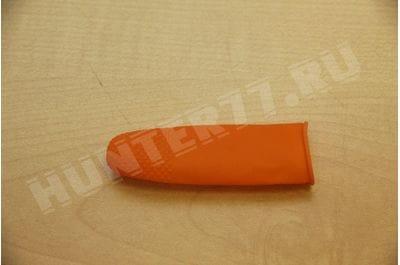 Weapon condom latex on trunk orange