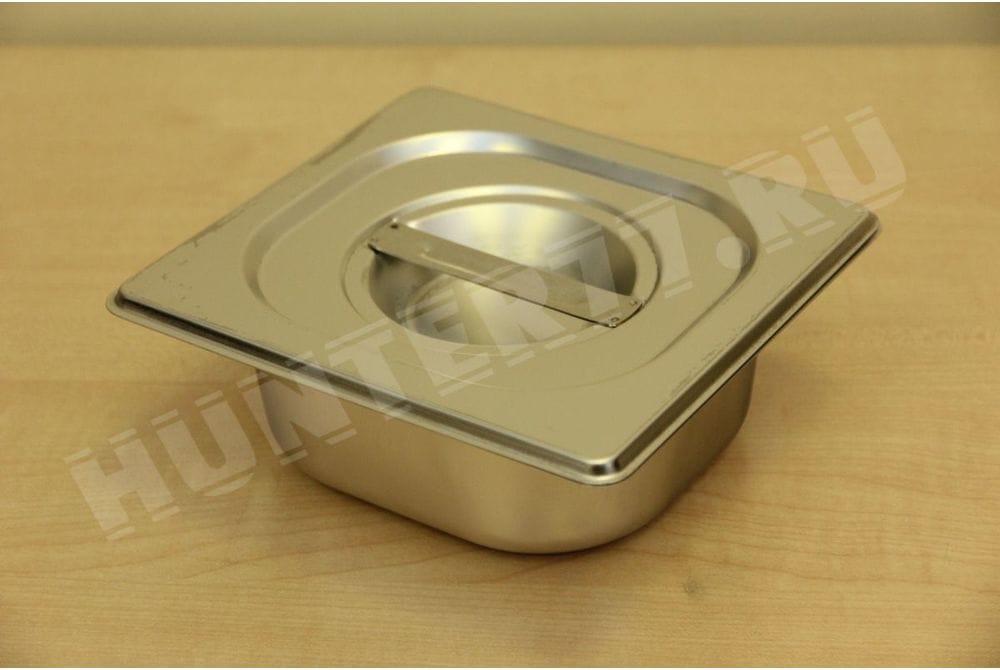 Гастроемкость 1/6 сталь, высота 65/100/150 мм