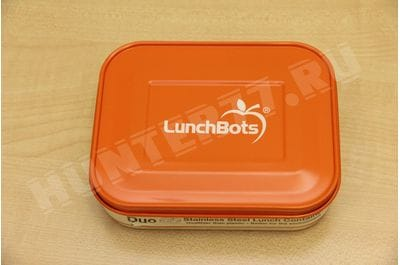 Food Container LunchBots 0.6 L Orange